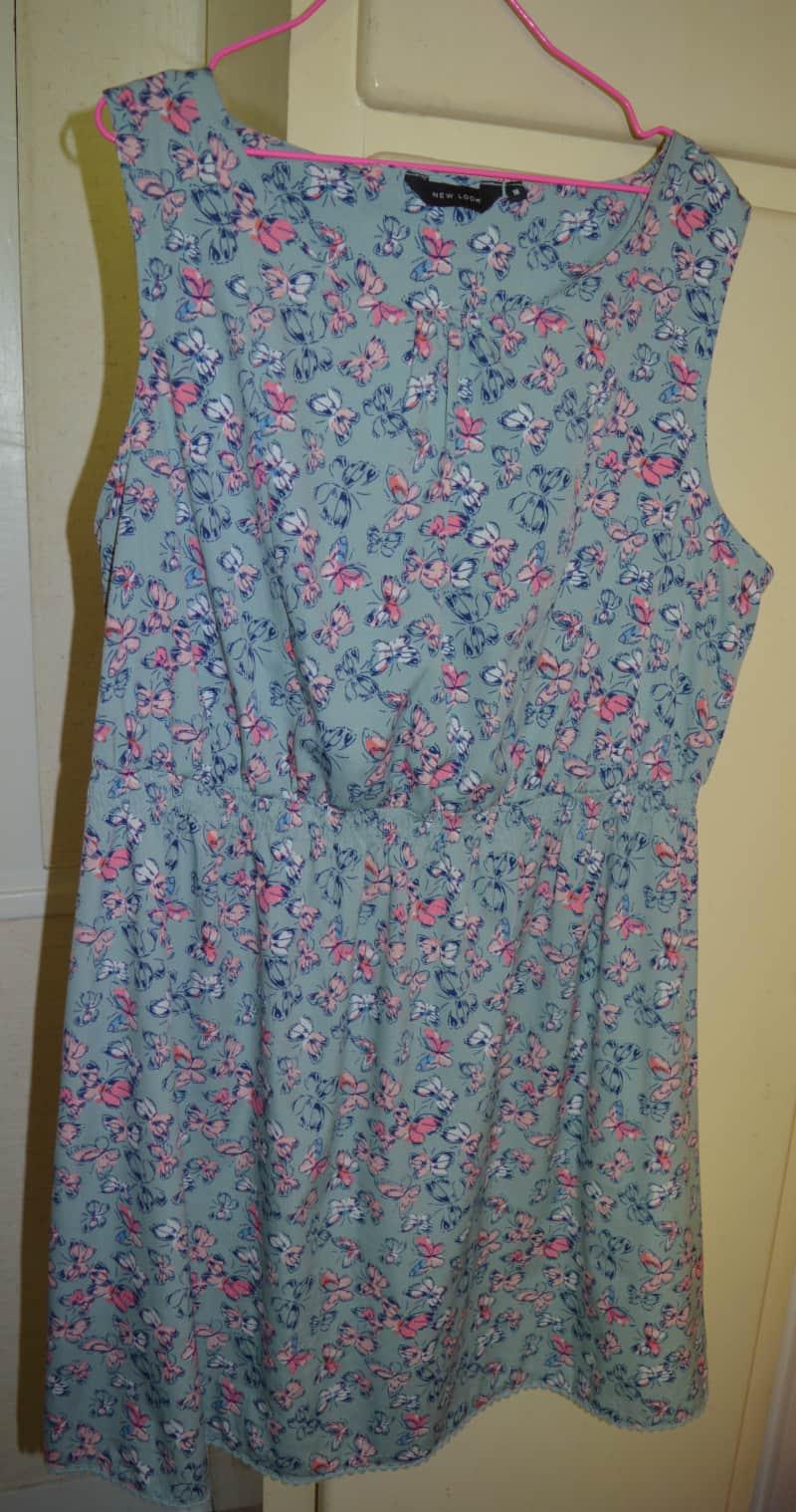 robe imprime papillon